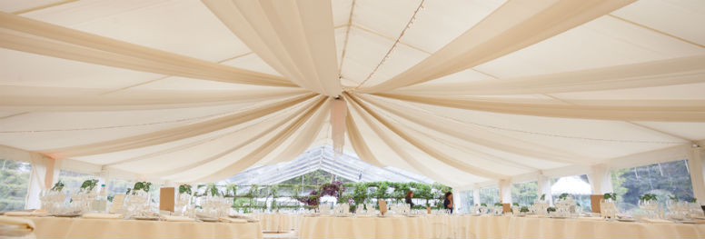 wedding draping hire Johannesburg